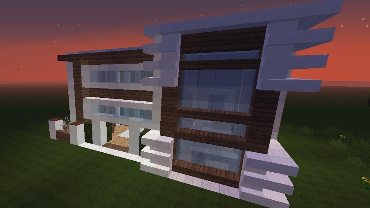 Minecraft modern house 3 come arredare una casa for Casa moderna minecraft ita download