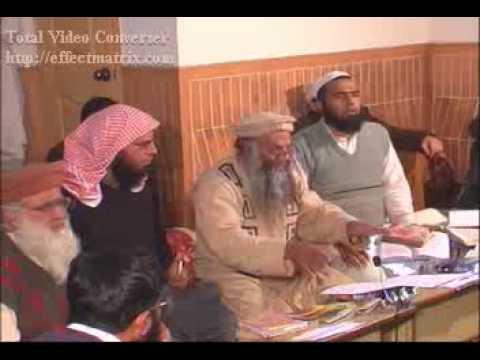 Munazra 6   36 Mufti Hanif Qureshi (suni) With Talib Ur Rahman (wahabi) video