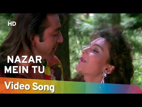 Nazar Mein Tu Jigar Mein Tu - Somy Ali - Sanjay Dutt - Andolan Songs - Sapna Mukherjee - Kumar Sanu video