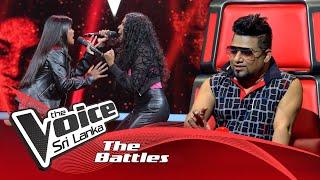 The Battles : Sohani Weerasinghe V Yohani Jacob | Piyawuna  The Voice Sri Lanka