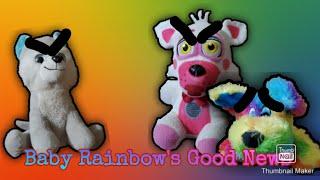 Baby Rainbow's good news