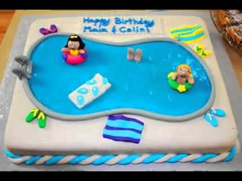 Pool Party Cakes Ideas Pool Party Cake Ideas