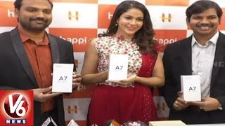 Actress Lavanya Tripathi Launches 42nd Happi Mobile Store In Siddipet