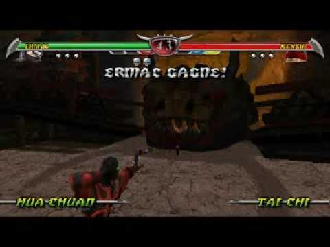 Mortal Kombat - Ermac Kills Kenshin Footjob video