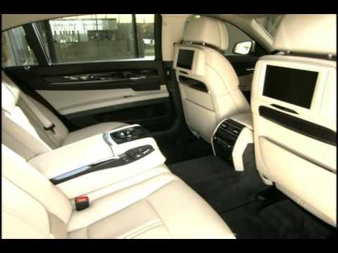BMW 760Li Interior - YouTube