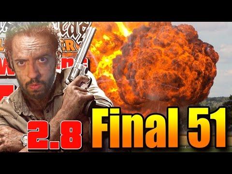 SAN ANDREAS WALKING DEAD 2.8: FINAL! CHEGUEI NA AREA 51!