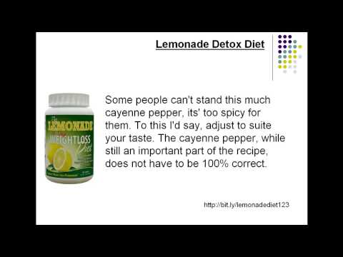 Lemonade Detox Diet - Does the Lemonade Detox Diet Actually Work?