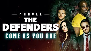 THE DEFENDERS TRAILER MUSIC - Piano Version (Nirvana - Come as You Are)