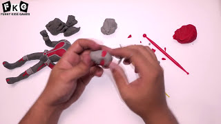 Ant-Man Play Doh (Marvel) How To Make  Ant-Man Play Dough