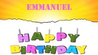 Emmanuel   Wishes & Mensajes - Happy Birthday