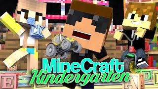 FIRST DAY | Minecraft Kindergarten [Ep.1 Minecraft Roleplay]
