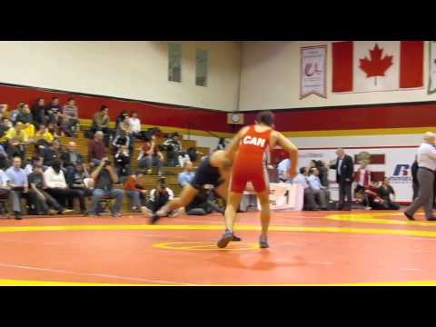 Guelph Open 2012: 60 kg Final James Mancini vs. Jimmy Kennedy