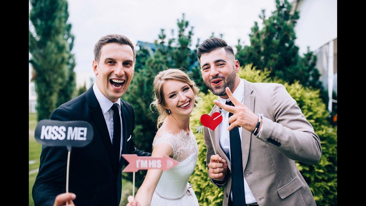Ведущие на свадьбы алексей и