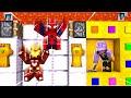 SONSUZLUK ELDİVENİYLE SAKLAMBAÇ OYNAMAK - Minecraft THANOS , SPIDER MAN , IRON MAN ,