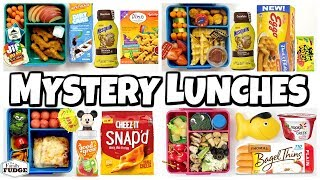 Breakfast At The Movies?!? 😱 MYSTERY YOUTUBER FAMILY Chooses Our Lunch! 🍎 Bunches Of Lunches