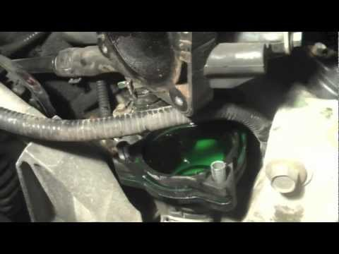 2001 Ford Explorer Thermostat Housing Replacement
