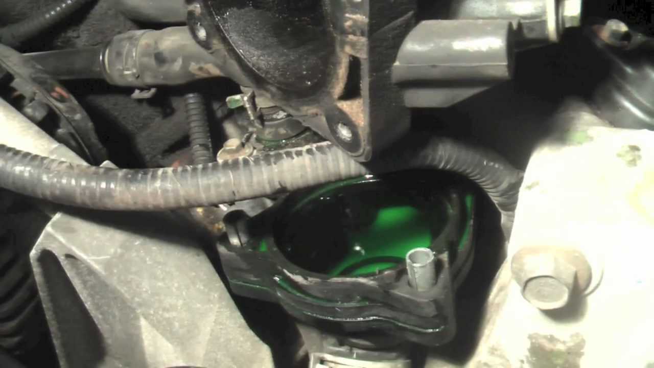 2001 Ford Explorer Thermostat Housing Replacement YouTube