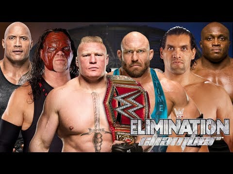 Ryback vs Bobby Lashley vs Kane vs The Rock vs Great Khali vs Lesnar WWE Elimination Chamber Match thumbnail
