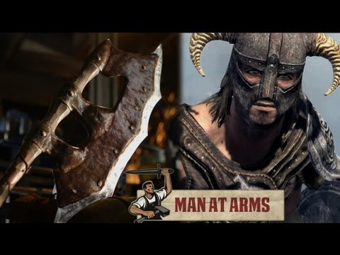 Orcish Battleaxe (Skyrim) - MAN AT ARMS