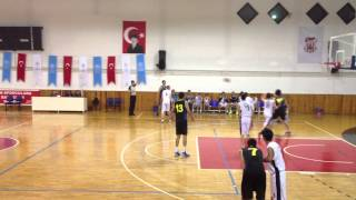 010Utku Saraloglu Basketball Match 2013-2014 vol.1