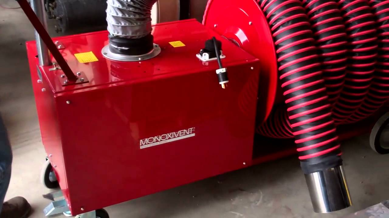 Monoxivent Portable Diesel Exhaust Removal Eliminator