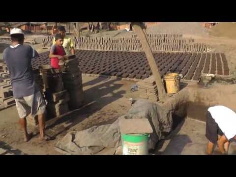 How to Make and Bake Clay Roof Tiles and Bricks