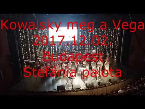 Kowalsky meg a Vega, Budapest, Stefánia Palota Akusztik, 2017.12.02. (részlet)
