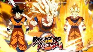 How Transformations Work (SSJ & Golden Form) BREAKDOWN!   Dragon Ball FighterZ