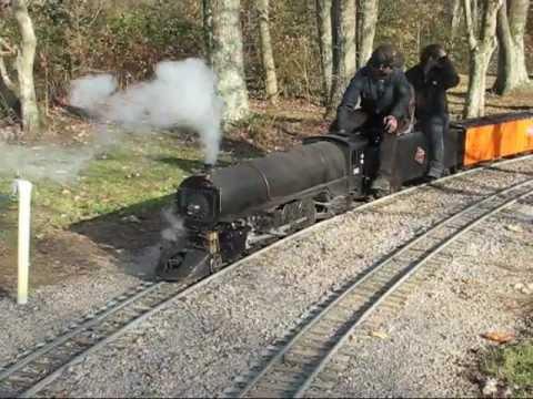 Mill Creek Central Valley Division II back yard live steam track train locomotive railroad