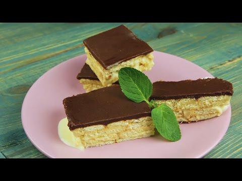 Торт-эклер без выпечки - Рецепты от Со Вкусом