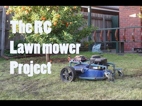 Design and Fabrication of Lever Operated Solar Lawn Mower