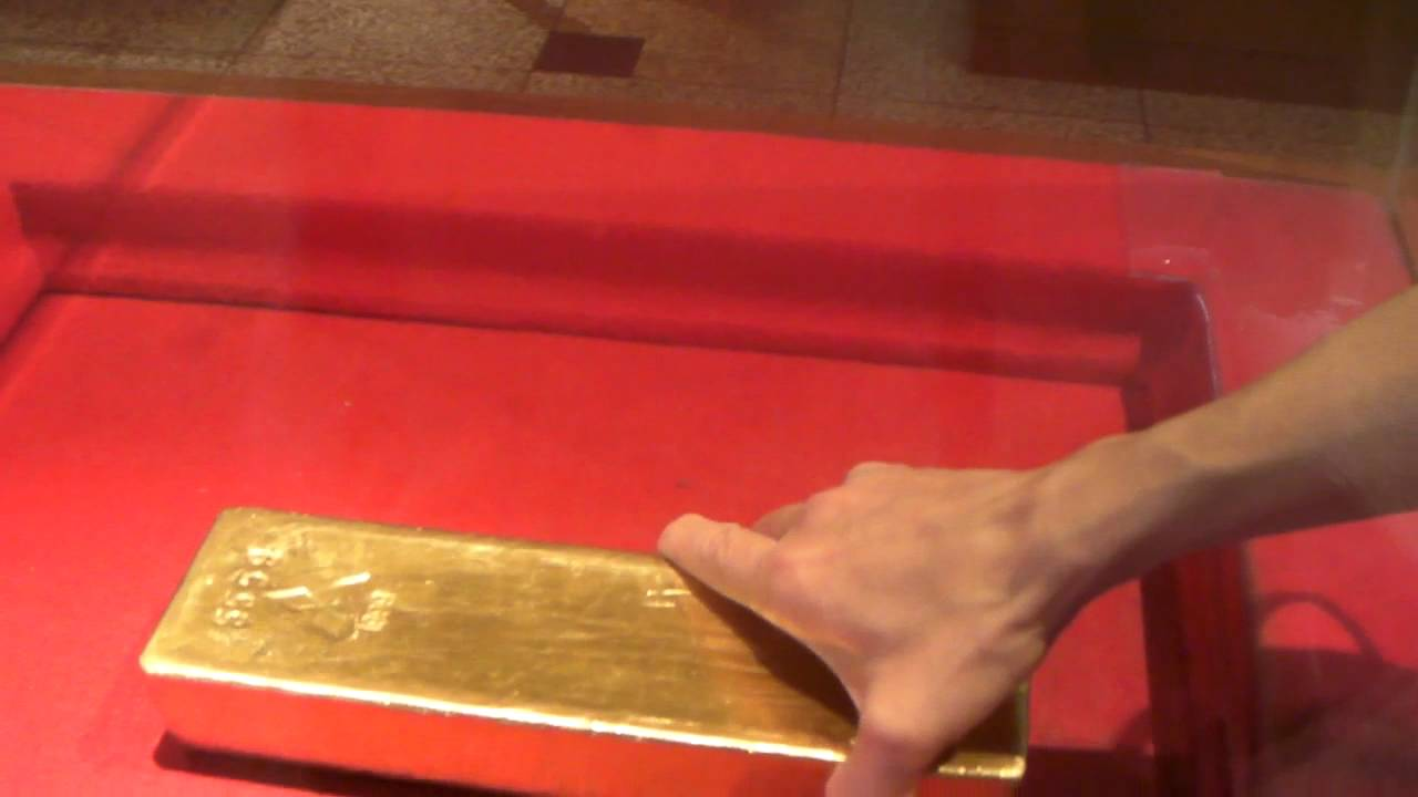 11 10 09 12 5kgの金塊 土肥金山 Youtube