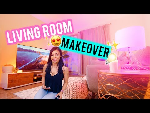 Ultimate Tech Living Room Makeover and Tour!