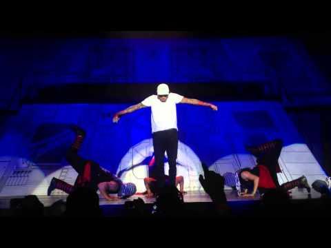 Chris Brown: Carpe Diem South Africa - Transform Ya/Bassline (Dancing) [HD]