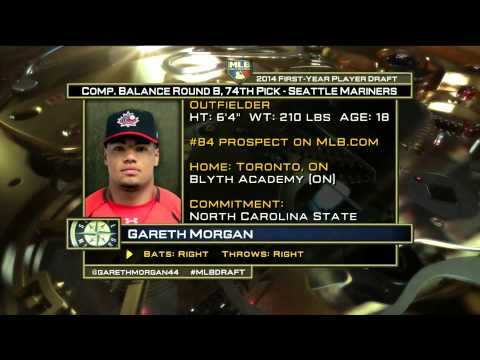 2014 MLB Draft - Seattle Mariners Select OF Gareth Morgan