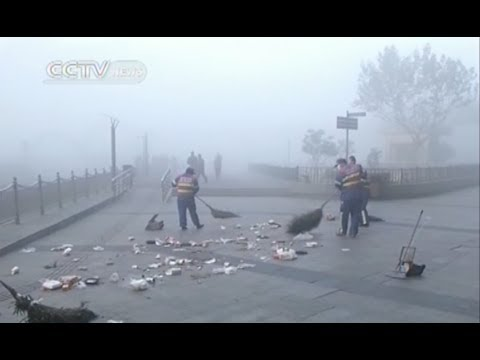 Shanghai suffers the worst smog pollution ever