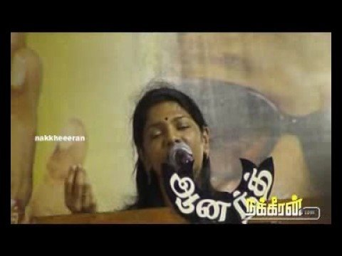 Kanimozhi`s speech at DMK support for Eelam Tamils