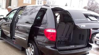 2007 Chrysler Town & Country Touring 4 door minivan near Genoa IL.