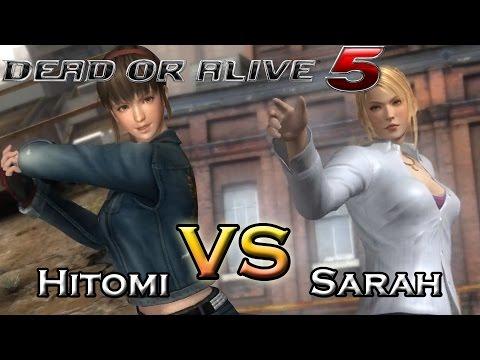Dead Or Alive 5 Last Round - Hitomi VS Sarah
