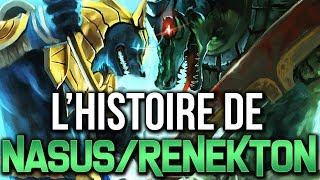 HISTOIRE DE CHAMPIONS : NASUS ET RENEKTON (Shurima - Partie 1)