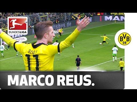 Marco Reus Strikes Again in Dortmund's 5-1 Win Over Wolfsburg