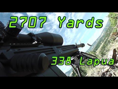 2707 Yards 1.54mi Shot! Savage 110BA 338 Lapua