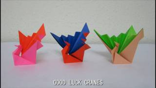 For Good Luck Fold Crane