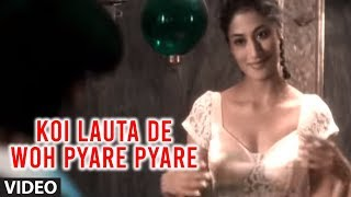 "Koi Lauta De Woh Pyare Pyare Din (Full Video Song) - Abhijeet ""Aashiqui"" Ft.  Hot  Chitrangada Singh"