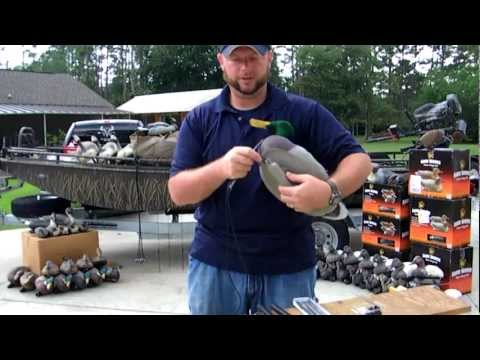 Stringing decoys