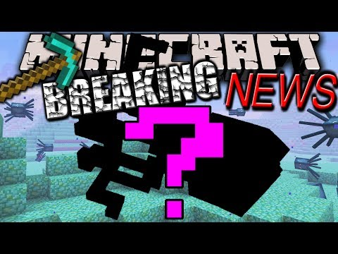 Minecraft 1.8 News: NEW Hostile Mob! Underwater. Monster or Animal. Prismarine. No Snapshot 1.7.10