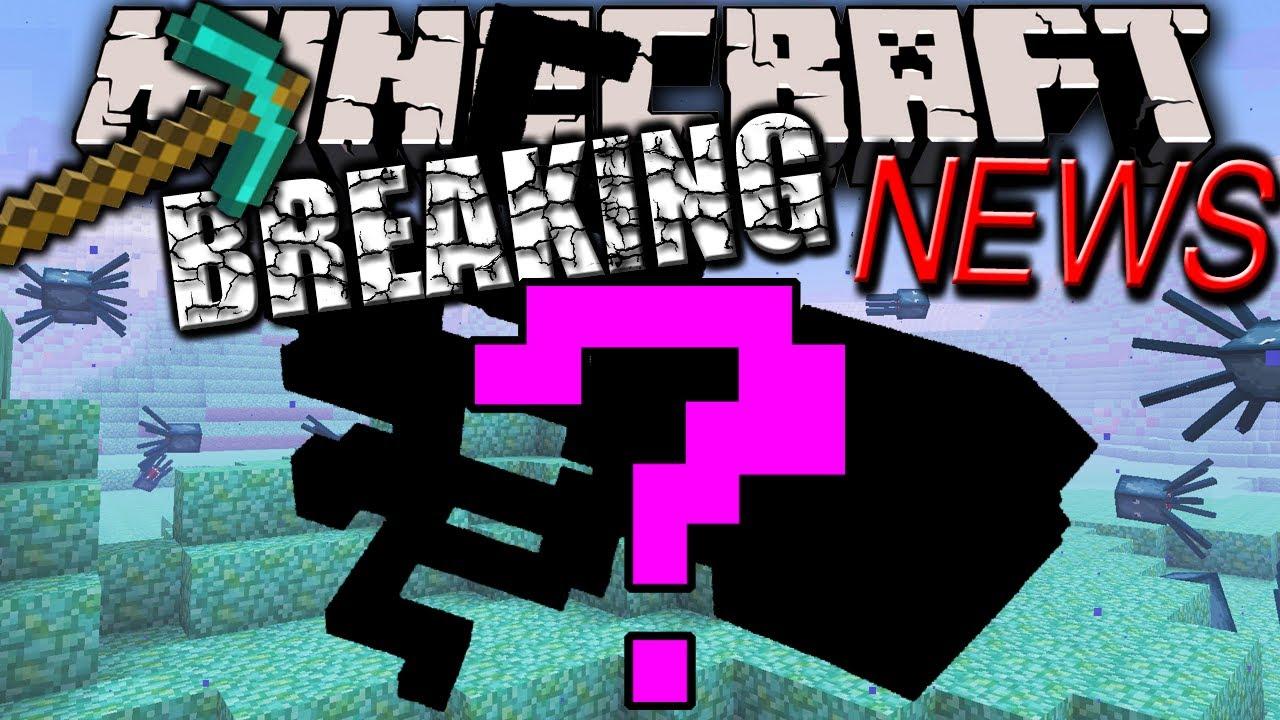 Minecraft 18 News NEW Hostile Mob Underwater Monster
