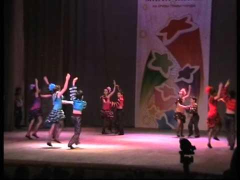"""Детский ансамбль бального танца """"Арабески"""""""