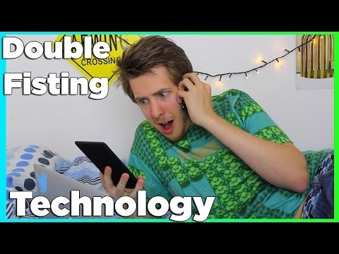 Double Fisting Technology | Evan Edinger video