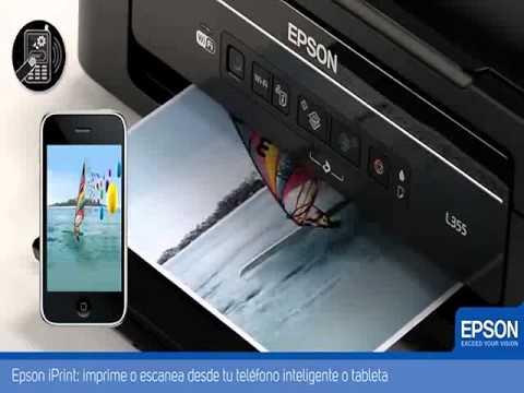 Impresora multifuncional Epson L355 WI FI  sistema continuo